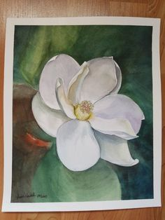 """Original watercolor painting 8""""x10"""" perfect for a gift. Unique # watercolor # painting # gift"""