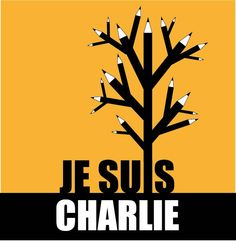 People of the world unite. Pick up your pencils. #JeSuisCharlie