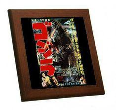 メルカリ商品: 『 ゴジラ 』のポスターの木枠付きフォトタイル(映画ポスターシリーズ) #メルカリ