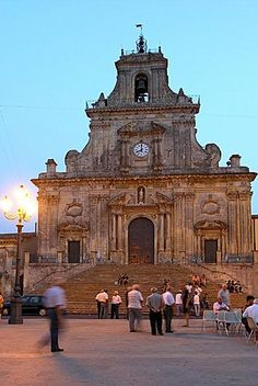 catedral barroca, Palazzolo Acreide, Sicilia, Italia, Europa