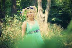 ♥ #handmade #flowers #headband #clementineLovee #nymph #strap #dress #belt #ring