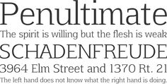 86 Free Serif Fonts for Your Design Inspiration