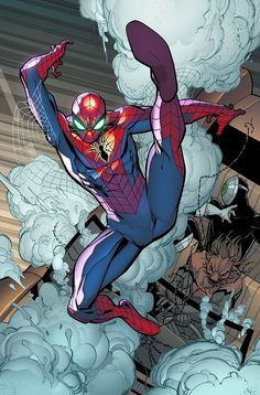 Amazing Spider-Man by Guiseppe Camuncoli, colours by Marte Garcia *