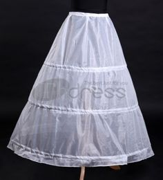 The ordinary texture Bridal wedding petticoat