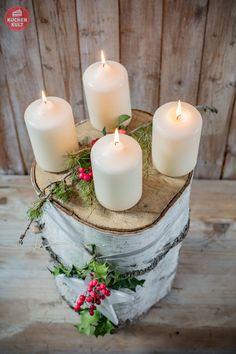 #Advent #Weihnachten #Adventskranz #einfach #christmas #deco #idea #xmas
