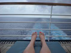 On a cruise ship!