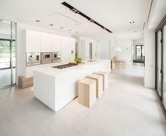 witte keuken gietvloer - Google zoeken