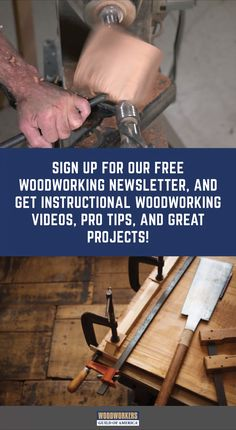 Become a Better Woodworker - Congrats! You've been invited to get instructional Woodworking videos, projects, and expert tips - Router Woodworking, Learn Woodworking, Woodworking Techniques, Woodworking Projects Diy, Woodworking Videos, Diy Wood Projects, Woodworking Magazines, Youtube Woodworking, Woodworking Patterns