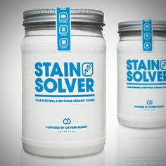 Stain Solver // Labor ...type treatment and color simplicity