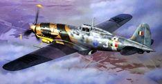 Eyes to the Skies Ww2 Aircraft, Fighter Aircraft, Military Aircraft, Fighter Jets, Aircraft Maintenance Engineer, Heroes And Generals, Italian Air Force, Aircraft Painting, Airplane Art