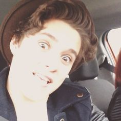 Brad and his sister Nat really funny moment. if you click on the photo than are you go to instagram and than is it a video