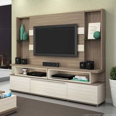 Brief Article Teaches You the Ins and Outs of Home Theater Design Tv Walls and What You Should Do Today Tv Unit Decor, Tv Wall Decor, Tv Cabinet Design, Tv Wall Design, Living Room Tv Unit Designs, Tv Unit Furniture, Modern Tv Wall Units, Tv Stand Designs, Muebles Living