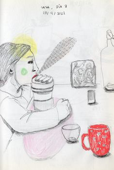Illustration. Sketchbook. India Toctli. Madrid, Snoopy, Illustration, Fictional Characters, Art, Indian Illustration, Sketch Books, Profile, Illustrations