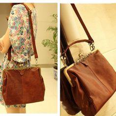 Image of [grhmf2200028]Vintage Hollow Out Shoulder Satchel Tote Bag  Handbag