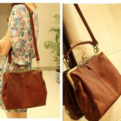 Image of [grhmf2200028]Vintage Hollow Out Shoulder Satchel Tote Bag  Handbag
