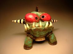 his stuff is amazing - so much personality! - James DeRosso by Oregon Potters, via Flickr