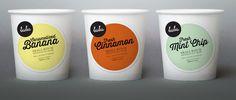 Ice Cream Packaging Design make Ice Cream More desirable? Ice Cream Packaging, Milk Packaging, Dessert Packaging, Bakery Packaging, Brand Packaging, Packaging Design, Ice Cream Logo, Ice Cream Brands, Make Ice Cream