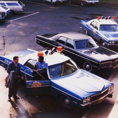 Our Flashback Friday Photo is from July 1973 with officers Leonard Miller and Wayne Cooper behind police headquarters.