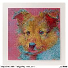 Shop popular Animals - Puppy Jigsaw Puzzle created by JAMColors. Make Your Own Puzzle, Acrylic Art, Customized Gifts, Dogs And Puppies, Jigsaw Puzzles, Moose Art, Popular, Art Prints, Artwork