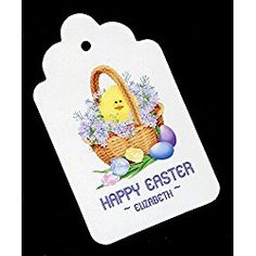 Easter Gift Tags, Easter Basket, Personalized Set of 25 Easter Gift, Happy Easter, Coupon Lingo, Detox Tea, Easter Baskets, Gift Tags, Ticket Check, Cool Things To Buy, Coupon Spreadsheet