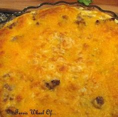 Cheeseburger Pie: easy, cheesy, hamburger goodness. This ground beef casserole is a favorite among kids and parents.