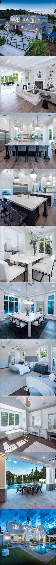 Designed by premier home builders, AMG Capital, this new smart home blends the best of traditional styling w/21st century tech. Sizeable floorplan is enhanced by custom lighting, wood floors, soaring coffered ceilings, high end fixtures & bi-fold French doors. Common rooms include a living room with fireplace & built-in cabinetry, formal dining room, sizeable den […]