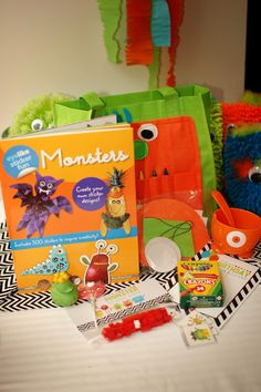 I'm so thrilled with how my monster bags turned out.  Everyone who sees them loves them.