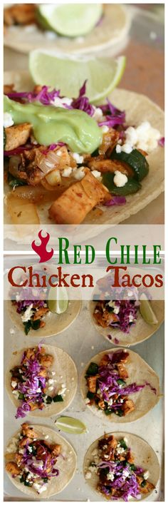 Red Chile Chicken Ta