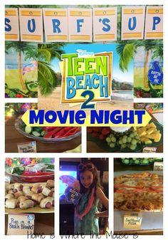 Perfect summer movie! | Teen Beach 2 Family Movie Night | Party Ideas | Kids Parties | Disney Movie Night