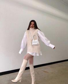 Winter Fashion Outfits, Look Fashion, Korean Fashion, Fall Outfits, Womens Fashion, Aesthetic Fashion, Aesthetic Clothes, Cute Casual Outfits, Stylish Outfits
