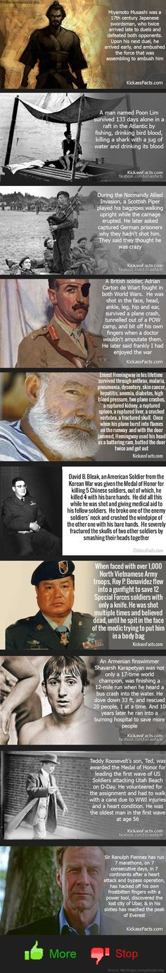 Kickass Facts: Manly Men