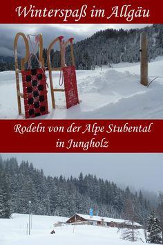 Rodeln von der Alpe Stubental: ein Winterausflug nach Jungholz