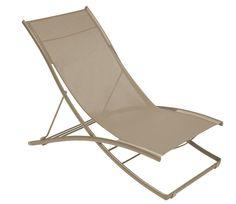 Chaise longue Made in Design, achat Chaise longue Plein Air / Pliante Fermob - 2 positions prix promo Madeindesign 360.00 € TTC
