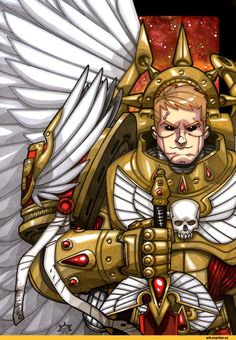 Nicolás R. Giacondino (N.), is a professional illustrator and comic-book artist, based in Mar del Plata, Argentina. He began drawing at a young age and has since developed a fresh and uniq. Warhammer 40k Blood Angels, Warhammer 40k Art, Warhammer Fantasy, Angel Drawing, Knight Art, Space Wolves, Game Workshop, Fantasy Armor, Angel Art
