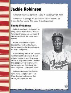 Jackie robinson determination