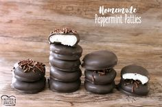 Making your own Peppermint Patties is easy! Just a few simple ingredients and you'll love the results. They taste SO much better than store bought!