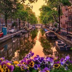 Amsterdam - Netherlands Pic by ✨@tatsolbe✨