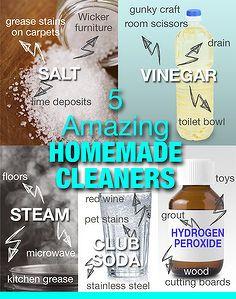 top zelfgemaakte schoonmaakmiddelen in 5 minuten of minder, schoonmaak tips, ga groen, Top Homemade Cleaning Products