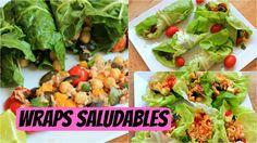 Wraps deliciosos para cuidar tu figura - YouTube