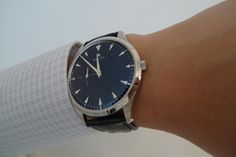 Zenith Elite 681 Ultra Thin Black Dial. This Swiss watch has an in-house movement.