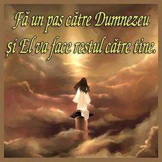 Fa Un Pas Catre Dumnezeu #god #dumnezeu #citate