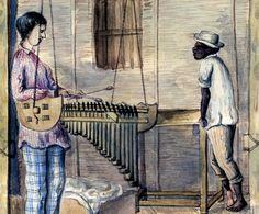 La marimba, instrumento popular, provincia de Barbacoas