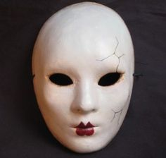 china doll masks | ... cracked doll masks like this Broken Doll Full Face Mask 2 for $125