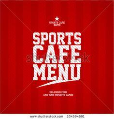 Nice Sports Bar menu design