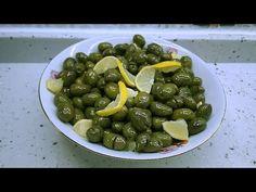 Dünyanın En Kolay Kırma Zeytin Tarifi   Yeşil Kırma Zeytin Nasıl Yapılır?  Emine'nin Köy Mutfağı - YouTube