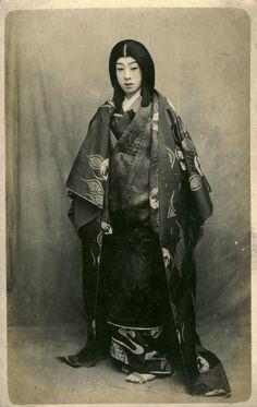 Japanese theatrical postcard