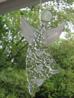 Bernis Strickwelt: glass angel