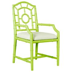 Bungalow 5 Chloe Spring Green Armchair. #laylagrayce #green #chair