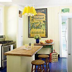 45 Bright, Bold Rooms | Happy Kitchen | CoastalLiving.com