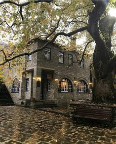Tsepelovo - Ioannina - Greece Viewer Instagram, Paradise On Earth, Cozy Place, Macedonia, Greece Travel, Crete, Athens, Places To Visit, Around The Worlds